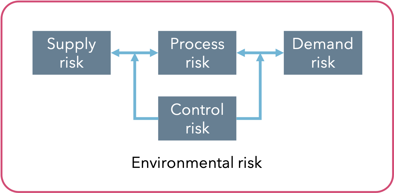 Source of Risk in the Supply Chain